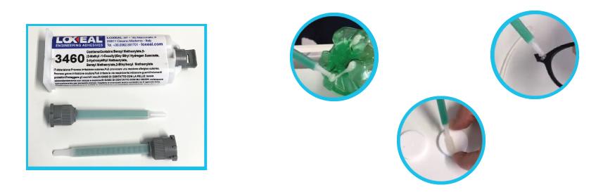 adesivo acrilico loxeal 3460
