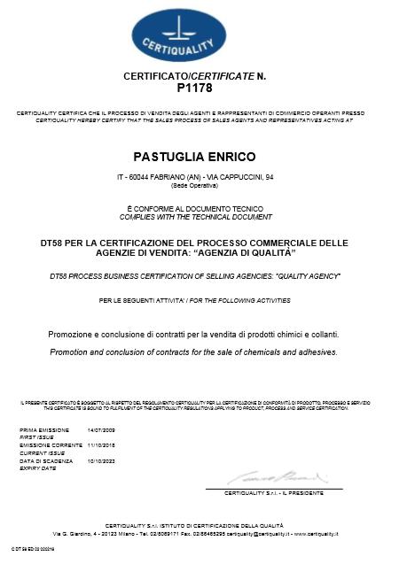 certificazione Agenzia di qualità