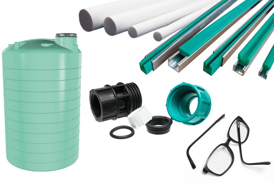 materiali plastici comuni